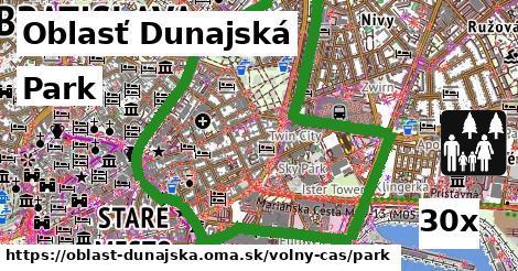 park v Oblasť Dunajská