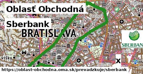 ilustračný obrázok k Sberbank, Oblasť Obchodná