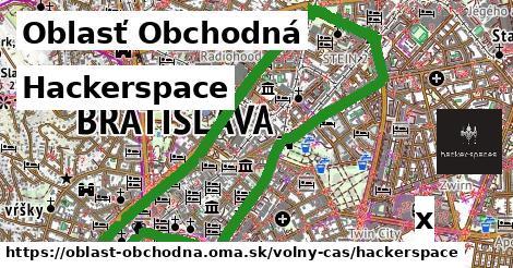 hackerspace v Oblasť Obchodná