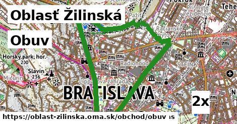 ilustračný obrázok k Obuv, Oblasť Žilinská