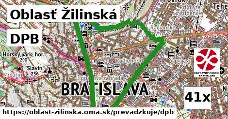 DPB v Oblasť Žilinská