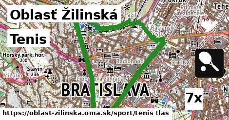 tenis v Oblasť Žilinská