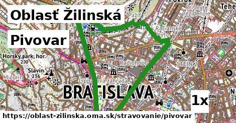 ilustračný obrázok k Pivovar, Oblasť Žilinská