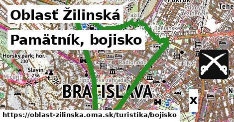 ilustračný obrázok k Pamätník, bojisko, Oblasť Žilinská