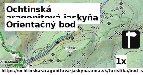 ilustračný obrázok k Orientačný bod, Ochtinská aragonitová jaskyňa