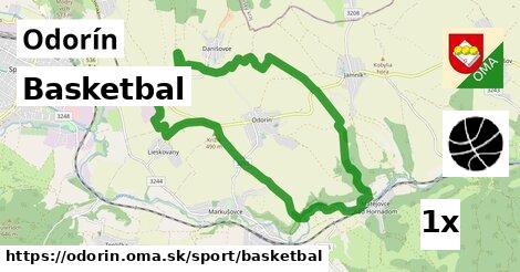 basketbal v Odorín