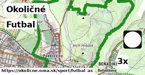 futbal v Okoličné