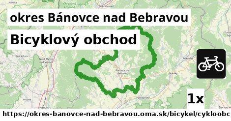 Bicyklový obchod, okres Bánovce nad Bebravou
