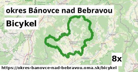 bicykel v okres Bánovce nad Bebravou