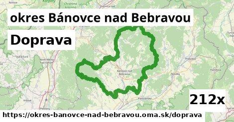 doprava v okres Bánovce nad Bebravou