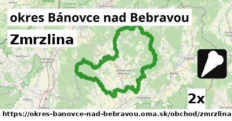 Zmrzlina, okres Bánovce nad Bebravou