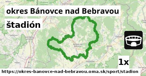 štadión, okres Bánovce nad Bebravou
