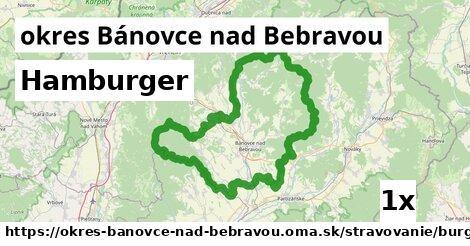Hamburger, okres Bánovce nad Bebravou