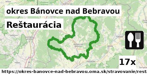 Reštaurácia, okres Bánovce nad Bebravou