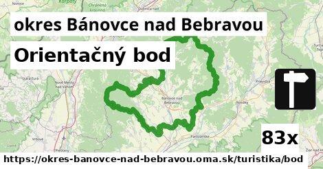 ilustračný obrázok k Orientačný bod, okres Bánovce nad Bebravou