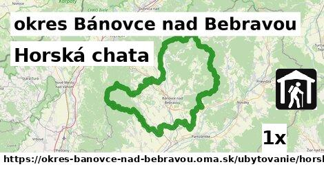 Horská chata, okres Bánovce nad Bebravou