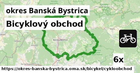 ilustračný obrázok k Bicyklový obchod, okres Banská Bystrica