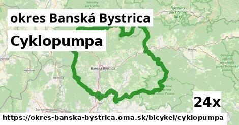 ilustračný obrázok k Cyklopumpa, okres Banská Bystrica