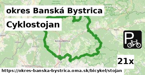 cyklostojan v okres Banská Bystrica
