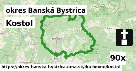 ilustračný obrázok k Kostol, okres Banská Bystrica