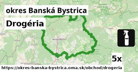 ilustračný obrázok k Drogéria, okres Banská Bystrica