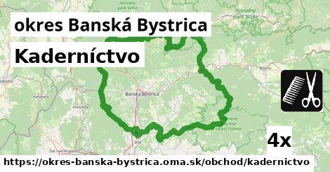ilustračný obrázok k Kaderníctvo, okres Banská Bystrica