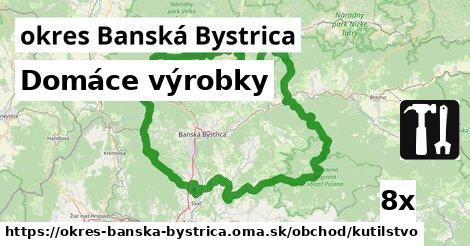 ilustračný obrázok k Domáce výrobky, okres Banská Bystrica