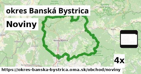 ilustračný obrázok k Noviny, okres Banská Bystrica
