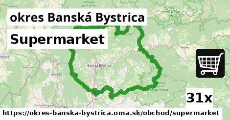 supermarket v okres Banská Bystrica