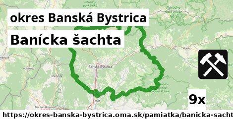 banícka šachta v okres Banská Bystrica