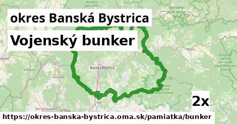 ilustračný obrázok k Vojenský bunker, okres Banská Bystrica
