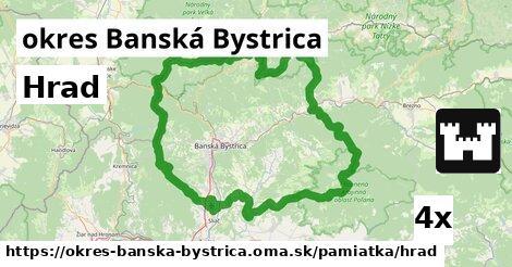 ilustračný obrázok k Hrad, okres Banská Bystrica