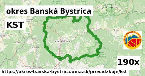 ilustračný obrázok k KST, okres Banská Bystrica