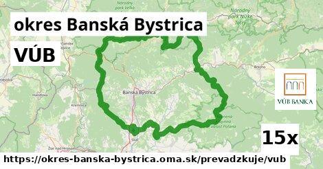 ilustračný obrázok k VÚB, okres Banská Bystrica