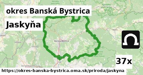 jaskyňa v okres Banská Bystrica