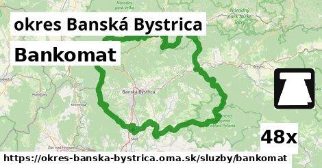 ilustračný obrázok k Bankomat, okres Banská Bystrica