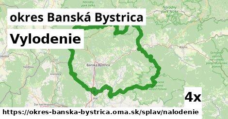 vylodenie v okres Banská Bystrica