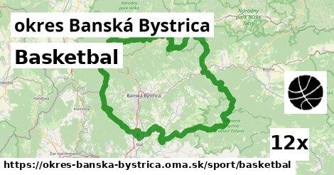 ilustračný obrázok k Basketbal, okres Banská Bystrica
