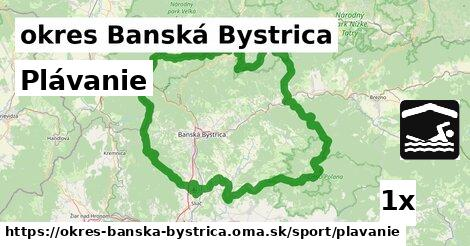 ilustračný obrázok k Plávanie, okres Banská Bystrica