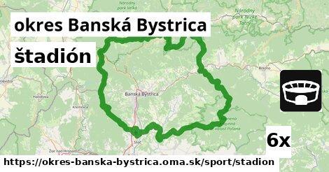 ilustračný obrázok k štadión, okres Banská Bystrica