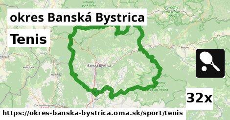 ilustračný obrázok k Tenis, okres Banská Bystrica