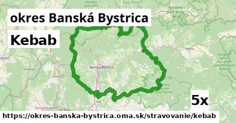 kebab v okres Banská Bystrica