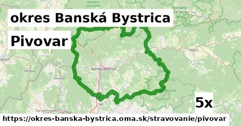 ilustračný obrázok k Pivovar, okres Banská Bystrica