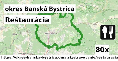 ilustračný obrázok k Reštaurácia, okres Banská Bystrica