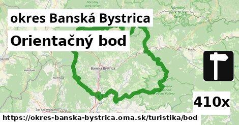 orientačný bod v okres Banská Bystrica