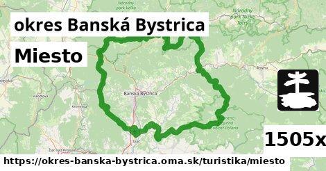 miesto v okres Banská Bystrica
