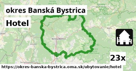ilustračný obrázok k Hotel, okres Banská Bystrica