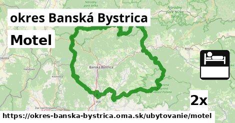 motel v okres Banská Bystrica