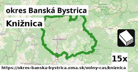 ilustračný obrázok k Knižnica, okres Banská Bystrica