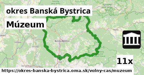 ilustračný obrázok k Múzeum, okres Banská Bystrica
